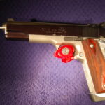 Colt 1911 45 acp 2 tone